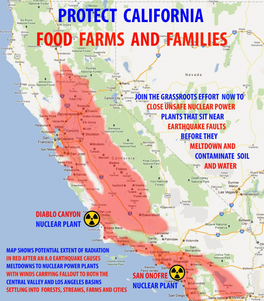 02/11/2012 Frey Winery Hosts California Nuclear Initiative Event - Nuclear Power Plants In California Map
