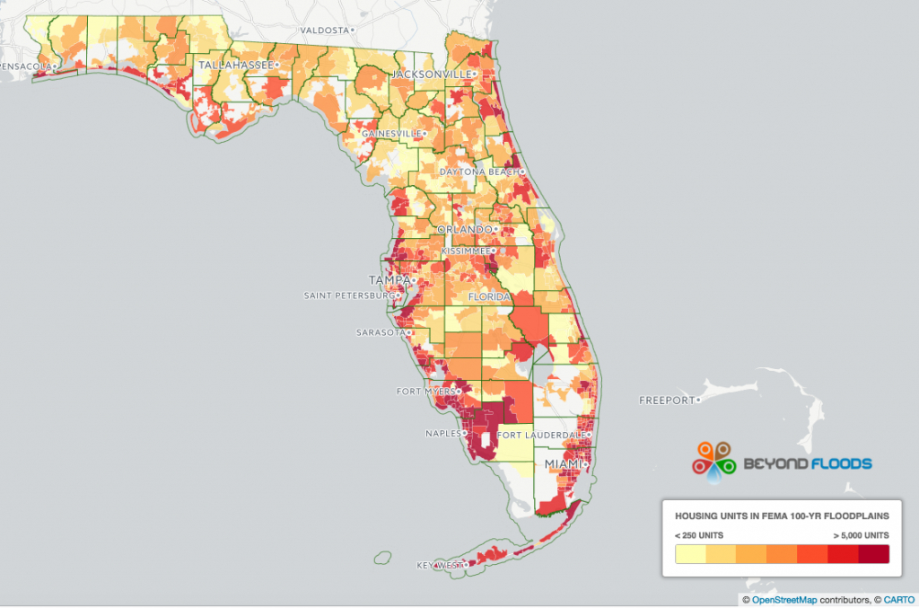 1.6 Million Florida Homes At High Risk Of Flooding From Irma Uninsured - Flood Maps Gainesville Florida