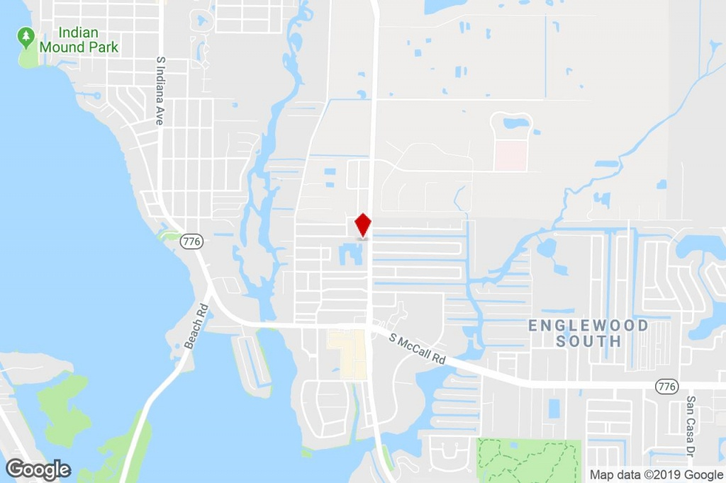 1000 Pine St, Englewood, Fl, 34223 - Commercial Property For Sale On - Street Map Of Englewood Florida