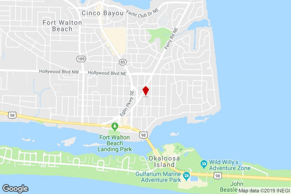 101 Chicago Ave Se, Fort Walton Beach, Fl, 32548 - Property For - Fort Walton Beach Florida Map Google