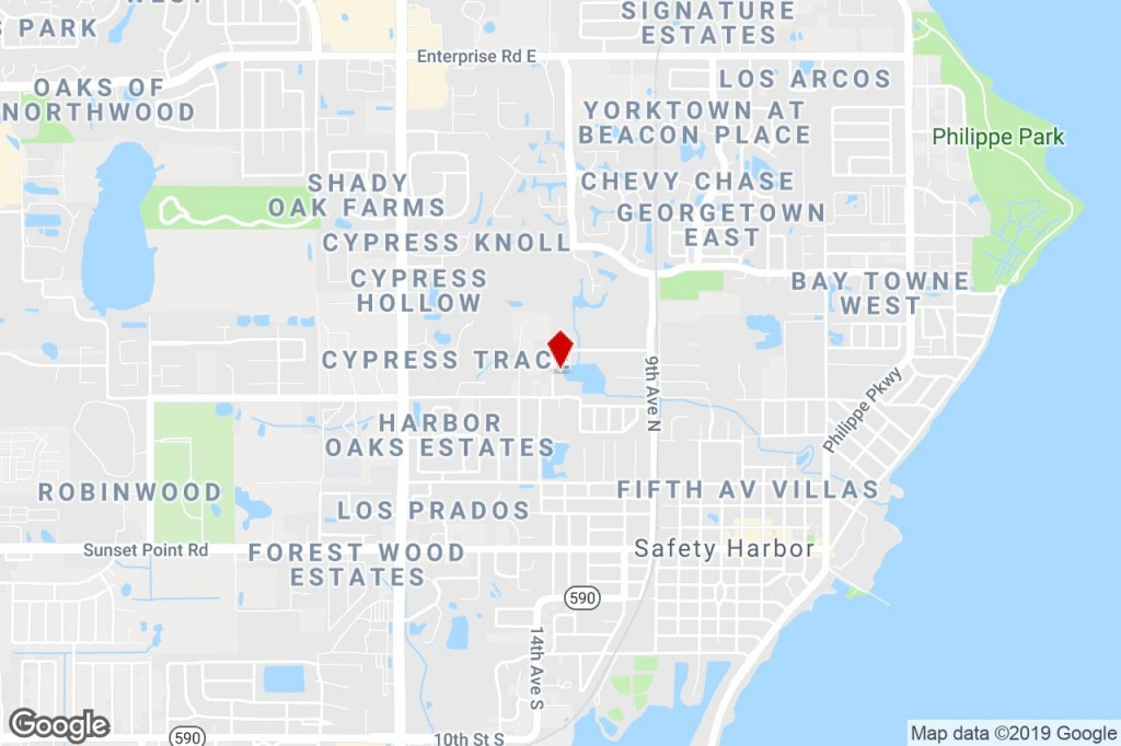 1050 Harbor Lake Dr, Safety Harbor, Fl, 34695 - Property For Sale On - Safety Harbor Florida Map