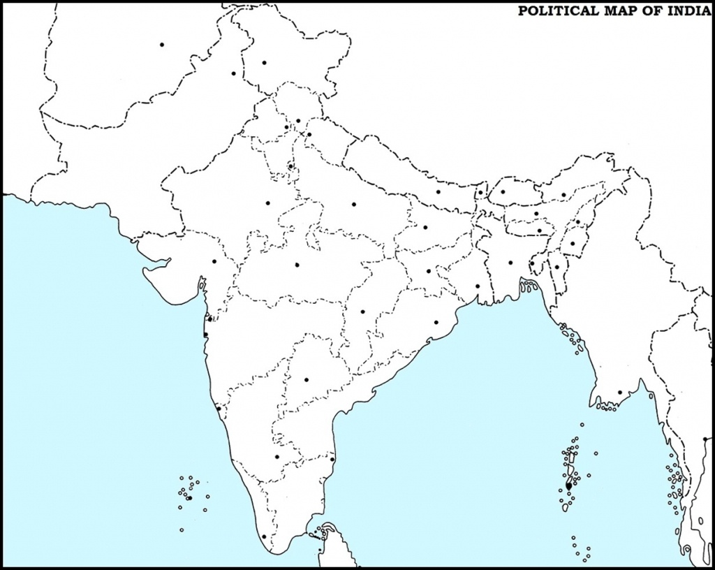 14 Important Maps Of India (Physical And Political Map) – Best Of India! - India River Map Outline Printable