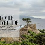 17 Mile Drive Monterey In Pictures (With Maps) – Bright Lights Of   17 Mile Drive California Map
