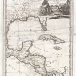1798 Cassini Map Of Florida, Louisiana, Cuba, And Central America – Florida Louisiana Map