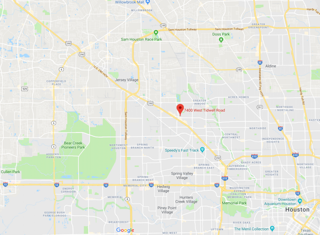 18-Year-Old Died After His Car Crashed Into Tree On Median - Houston - Google Maps Houston Texas