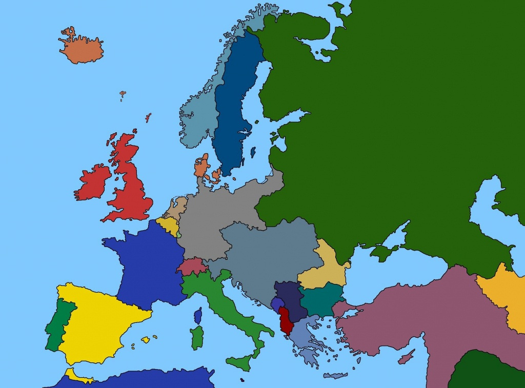 1914 Map Of Europe | D1Softball - Blank Map Of Europe 1914 Printable