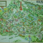 1970S Six Flags Over Texas Map. This Is How The Park Looked When I   Printable Six Flags Over Georgia Map