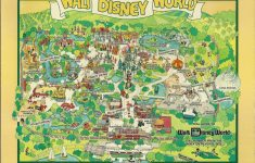 1980 Walt Disney World Dial Map   In August 1983 We Visited …   Flickr   Walt Disney Florida Map