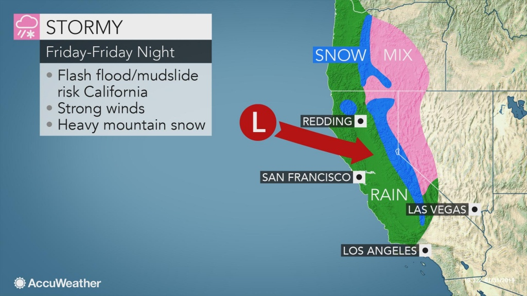 1St Major Storm In Weeks To Pummel California With Heavy Rain - Northern California Radar Map