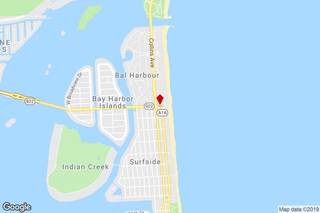 200 96Th St, Surfside, Fl, 33154 - Commercial Property For Sale On - Surfside Florida Map