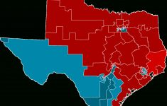 2012 United States House Of Representatives Elections In Texas   Texas State Representatives District Map