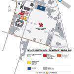 2016 17 Men's Basketball Parking Information   University Of Houston   University Of Texas Football Parking Map 2016