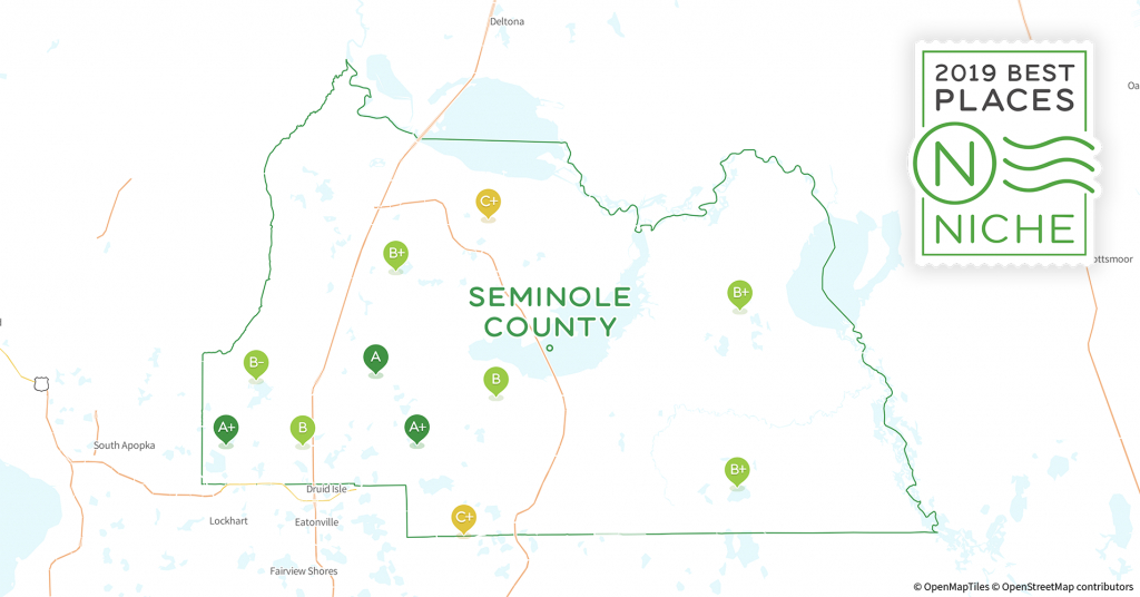 2019 Best Places To Live In Seminole County, Fl - Niche - Map Of Seminole County Florida