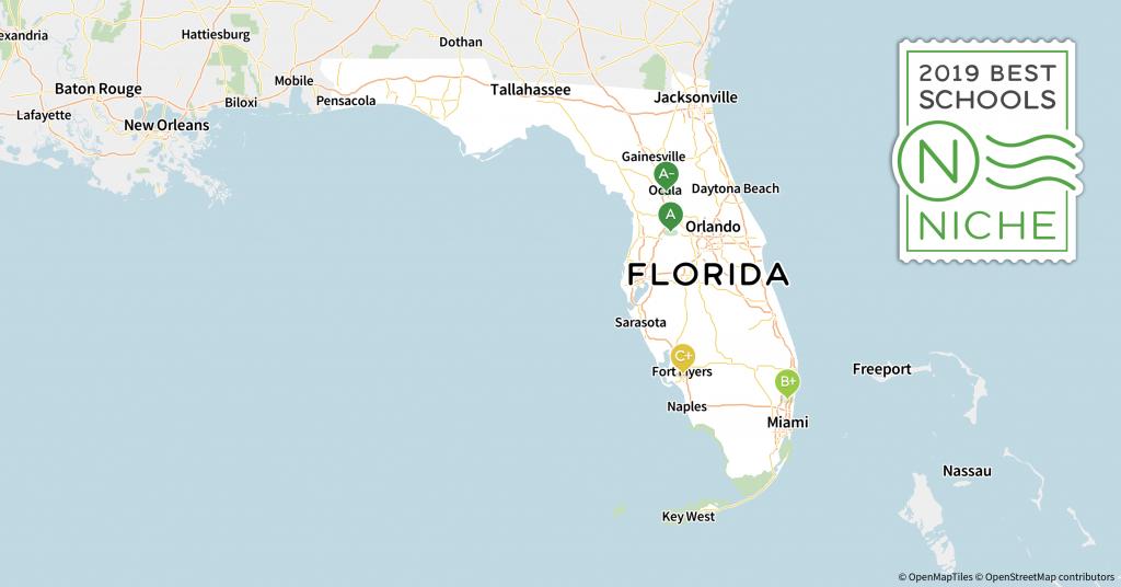 2019 Best School Districts In Florida - Niche - Westlake Florida Map