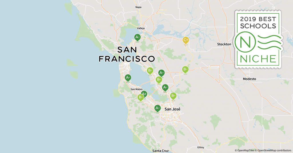 2019 Best School Districts In The San Francisco Bay Area - Niche - California School Districts Map