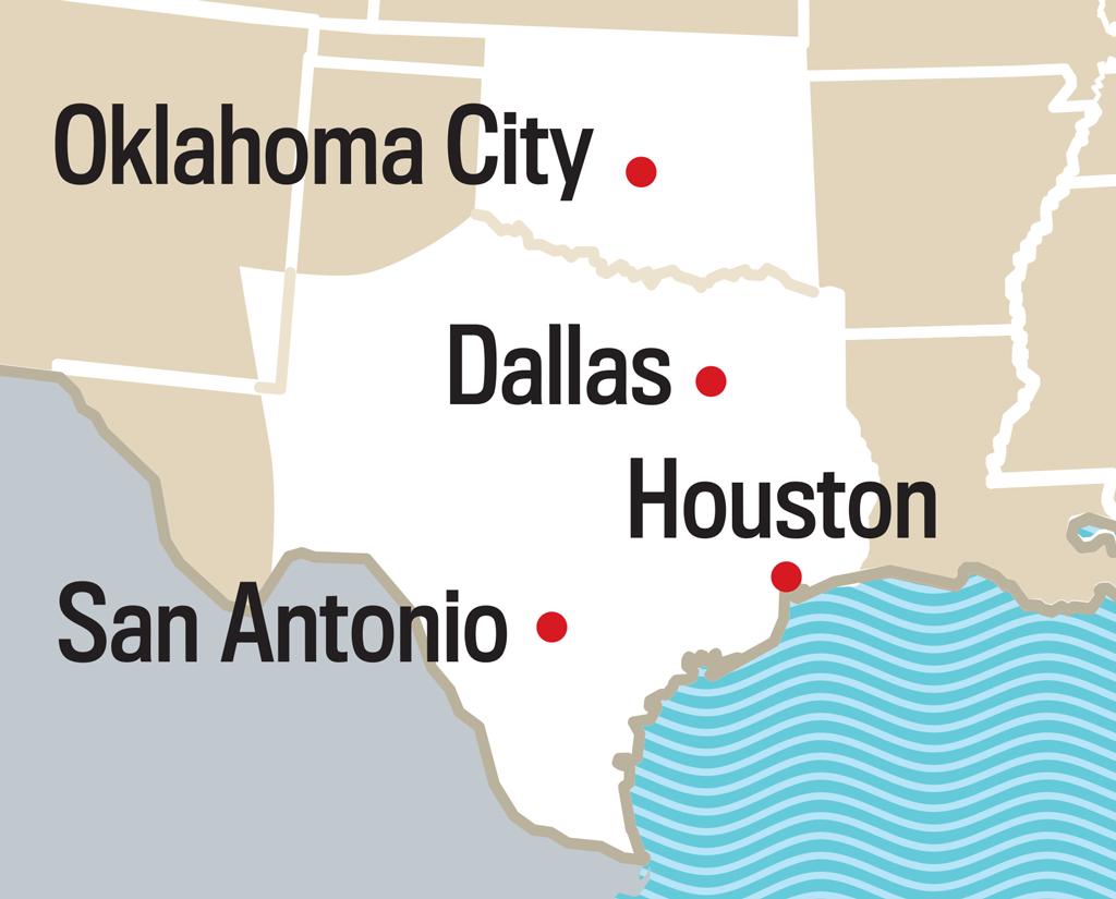 2019 Long Range Weather Forecast For Austin, Tx | Old Farmer's Almanac - Texas Forecast Map