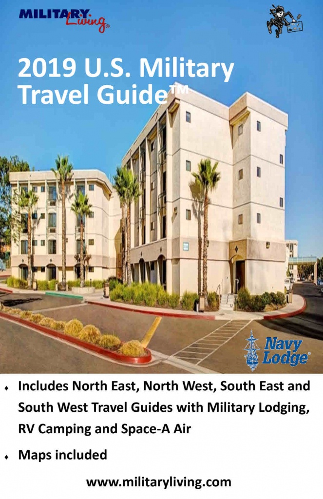 2019 Us Military Travel Guide™ - Military Living - Dod Lodging California Map