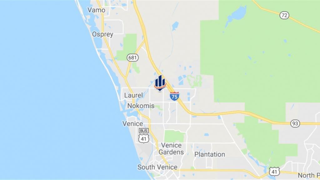 2300 Laurel Road, Nokomis, Fl 34275 - Land For Sale - 2300 Laurel Road - Nokomis Florida Map