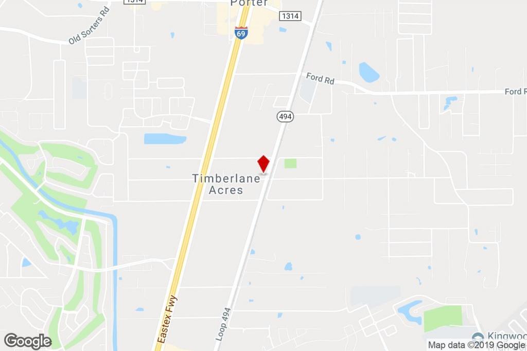 24706 Loop 494, Porter, Tx, 77365 - Property For Sale On Loopnet - Porter Texas Map