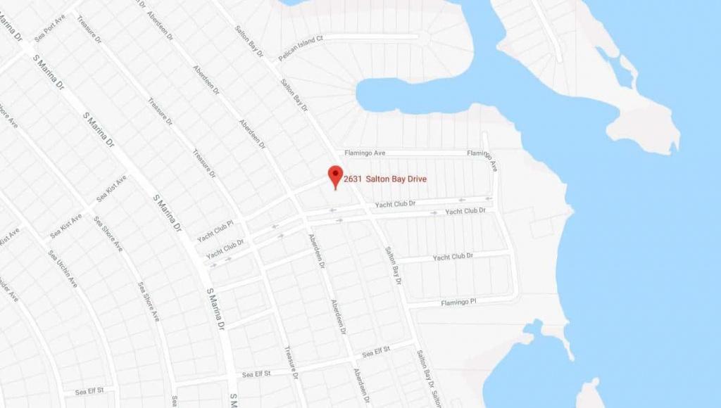 2631 Salton Bay Dr Thermal, California | Terrenos Na Florida - Thermal California Map