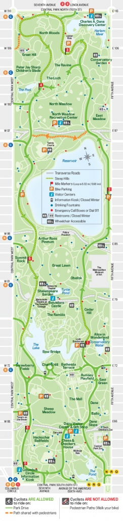 27 Things To Do In Central Park | Free Toursfoot - Printable Walking Map Of Midtown Manhattan