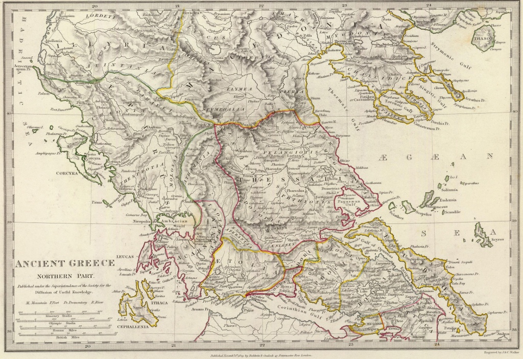 30 Maps That Show The Might Of Ancient Greece - Map Of Ancient Greece Printable