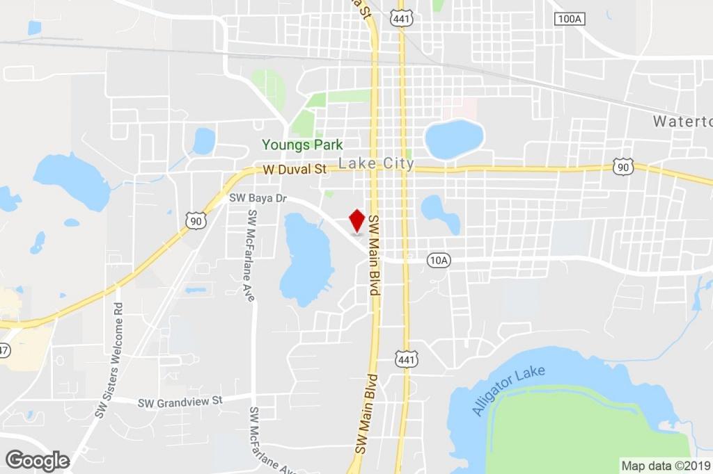 363 Sw Baya Dr, Lake City, Fl, 32025 - Storefront Retail/office - Map Of Lake City Florida And Surrounding Area