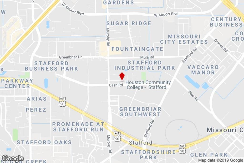 3964 - 3992 Bluebonnet Dr, Stafford, Tx, 77477 - Warehouse Property - Stafford Texas Map