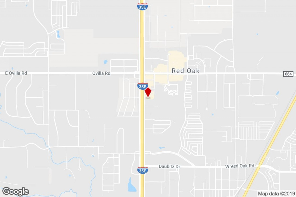 402 N Interstate 35, Red Oak, Tx, 75154 - Commercial Property For - Red Oak Texas Map