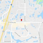 4106 W Lake Mary Blvd, Lake Mary, Fl, 32746   Medical Property For   Lake Mary Florida Map