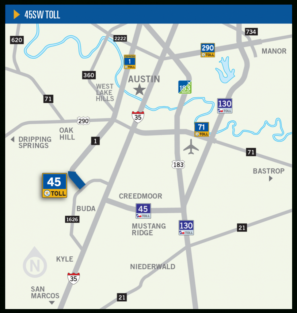 45Sw Toll | Central Texas Regional Mobility Authority - I 35 Central Texas Traffic Map