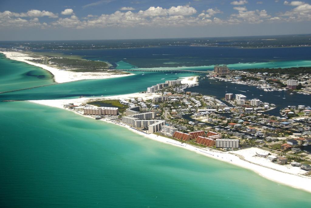 5 Emerald Coast Beaches With Sugar White Sand | Visit Florida - Northwest Florida Beaches Map