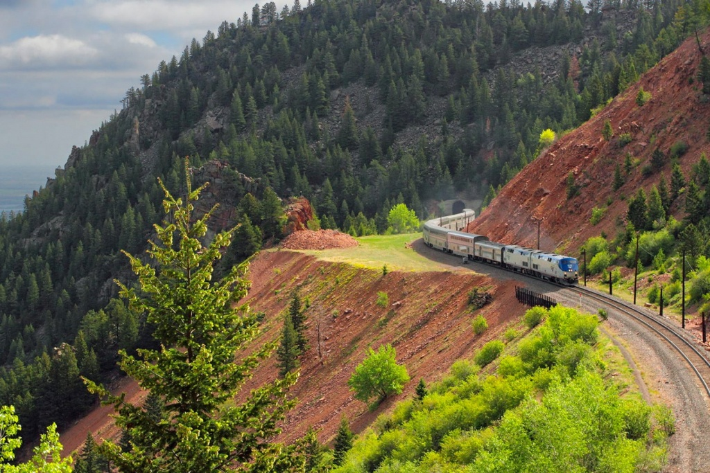 5 Most Scenic Amtrak Train Routes For Unparalleled Views Of The Usa - Amtrak California Zephyr Map
