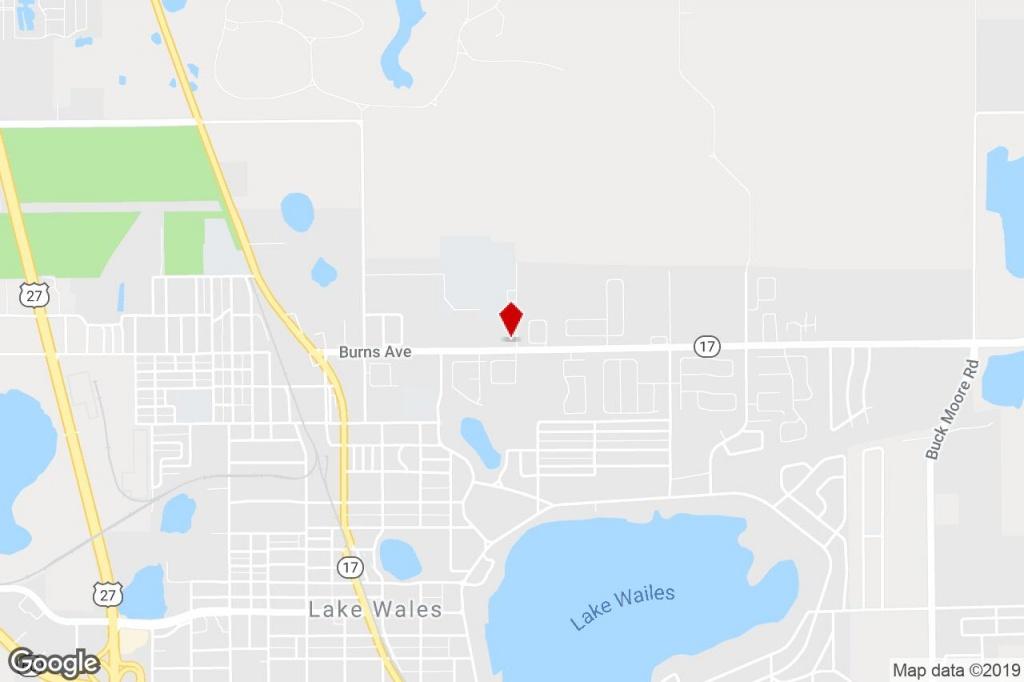 555 Burns Ave, Lake Wales, Fl, 33853 - Property For Sale On Loopnet - Lake Wells Florida Map