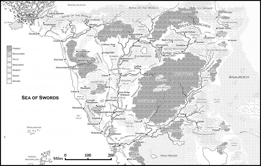 5E] Storm King's Thunder Player Map? : Dnd - Storm King's Thunder Printable Maps