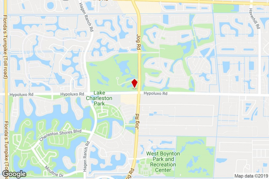 6455 S Jog Rd, Lake Worth, Fl, 33467 - Service Station Property For - Lake Worth Florida Map