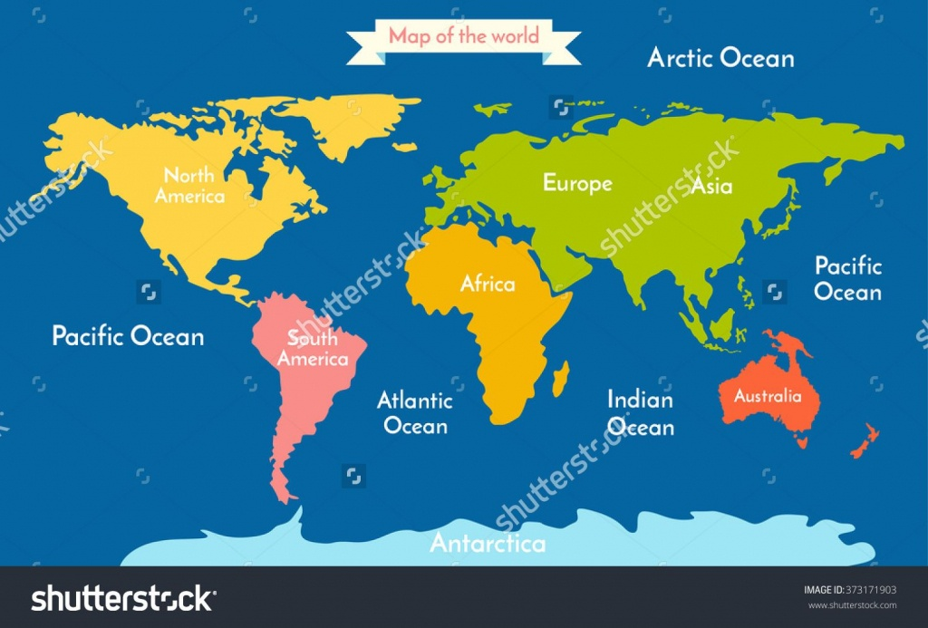 7 Continents And 5 Oceans In This World Telugu New World | 5 Oceans - Printable Map Of The 7 Continents And 5 Oceans