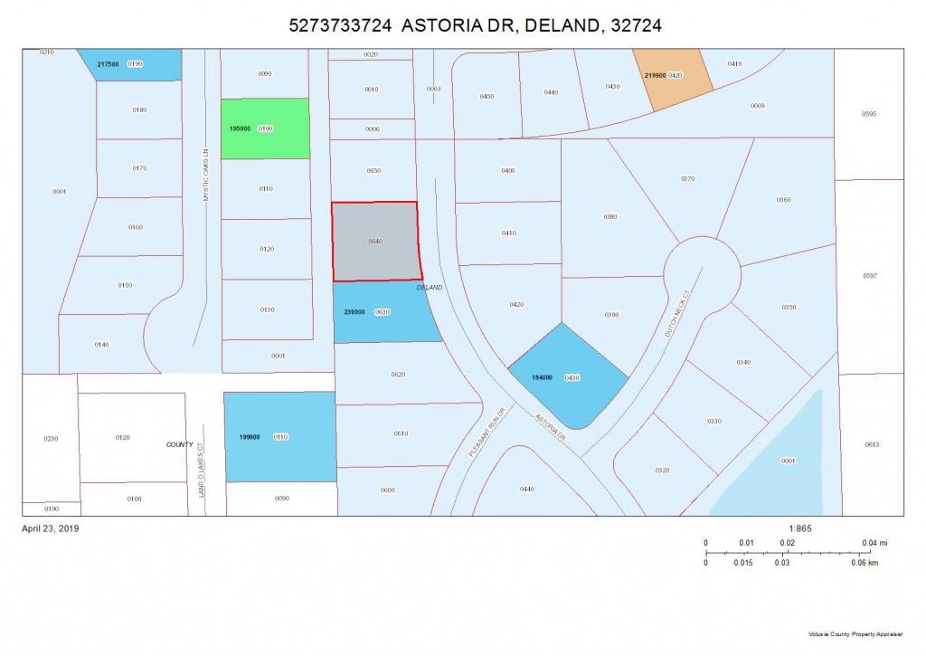 724 Astoria Dr, Deland, Fl 32724 - Lot/land | Trulia - Deland Florida Map