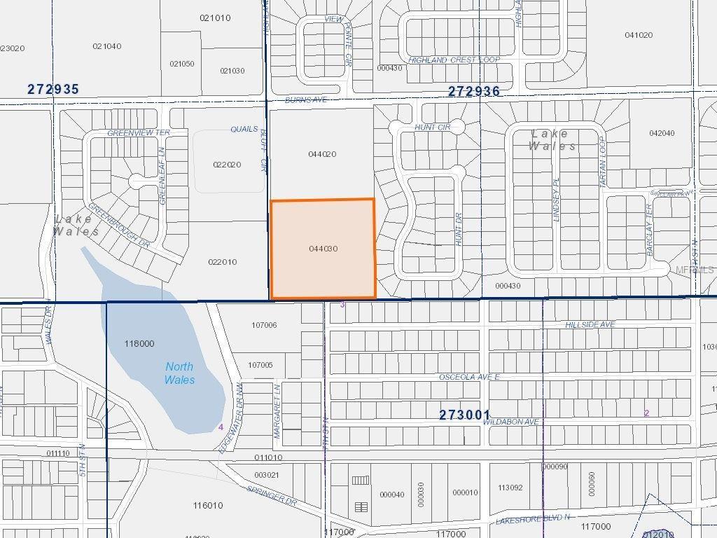 7Th Street N, Lake Wales, 33853 | Fannie Hillman + Associates, Inc. - Lake Wells Florida Map