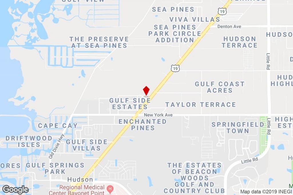 8039 Palatine Dr, Hudson, Fl, 34667 - Freestanding Property For Sale - Google Maps Hudson Florida