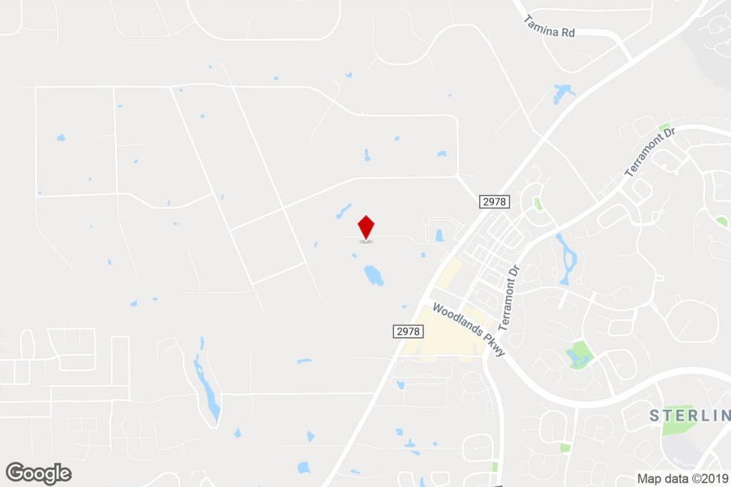 8909 West Ln, Magnolia, Tx, 77354 - Property For Lease On Loopnet - Magnolia Texas Map