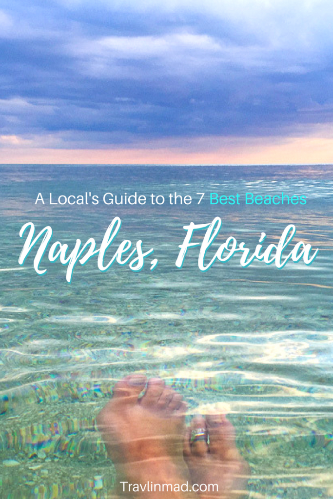 A Local's Guide To The 7 Best Beaches In Naples, Florida - Naples Florida Beaches Map