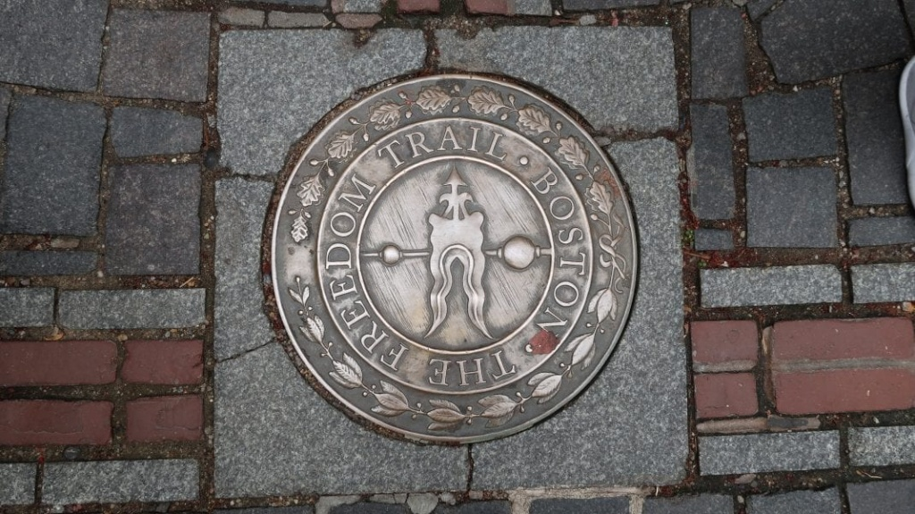 A Self Guided Freedom Trail Tour - Freedom Trail Map Printable