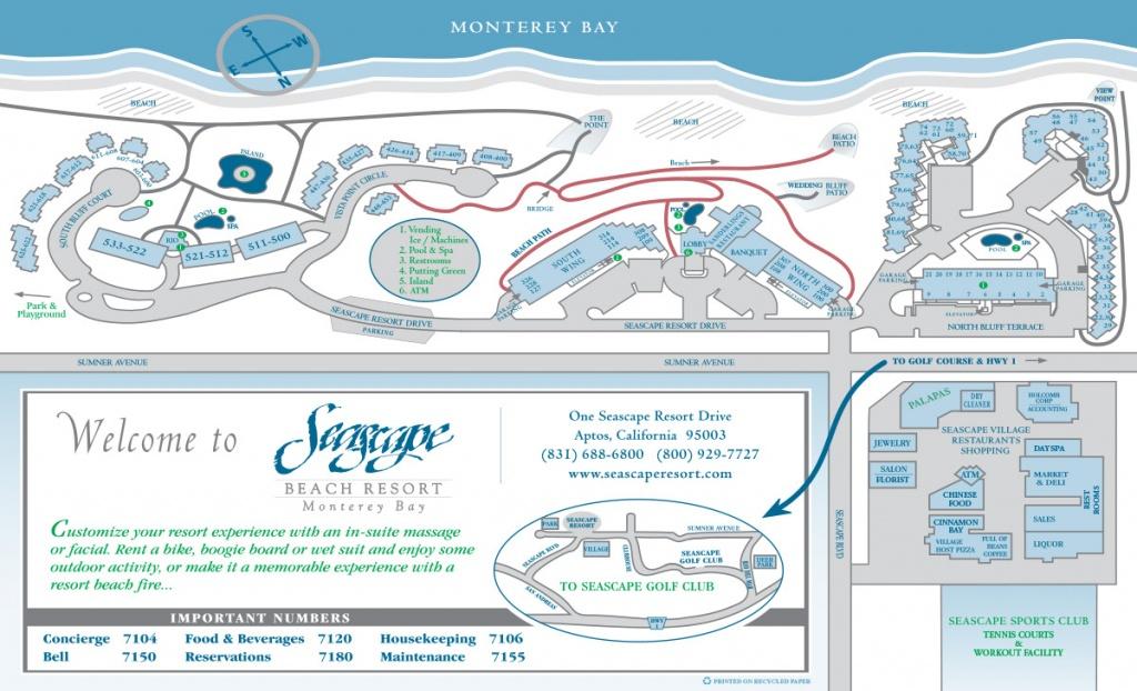 About Seascape | Resort Map - Seascape Resort Destin Florida Map