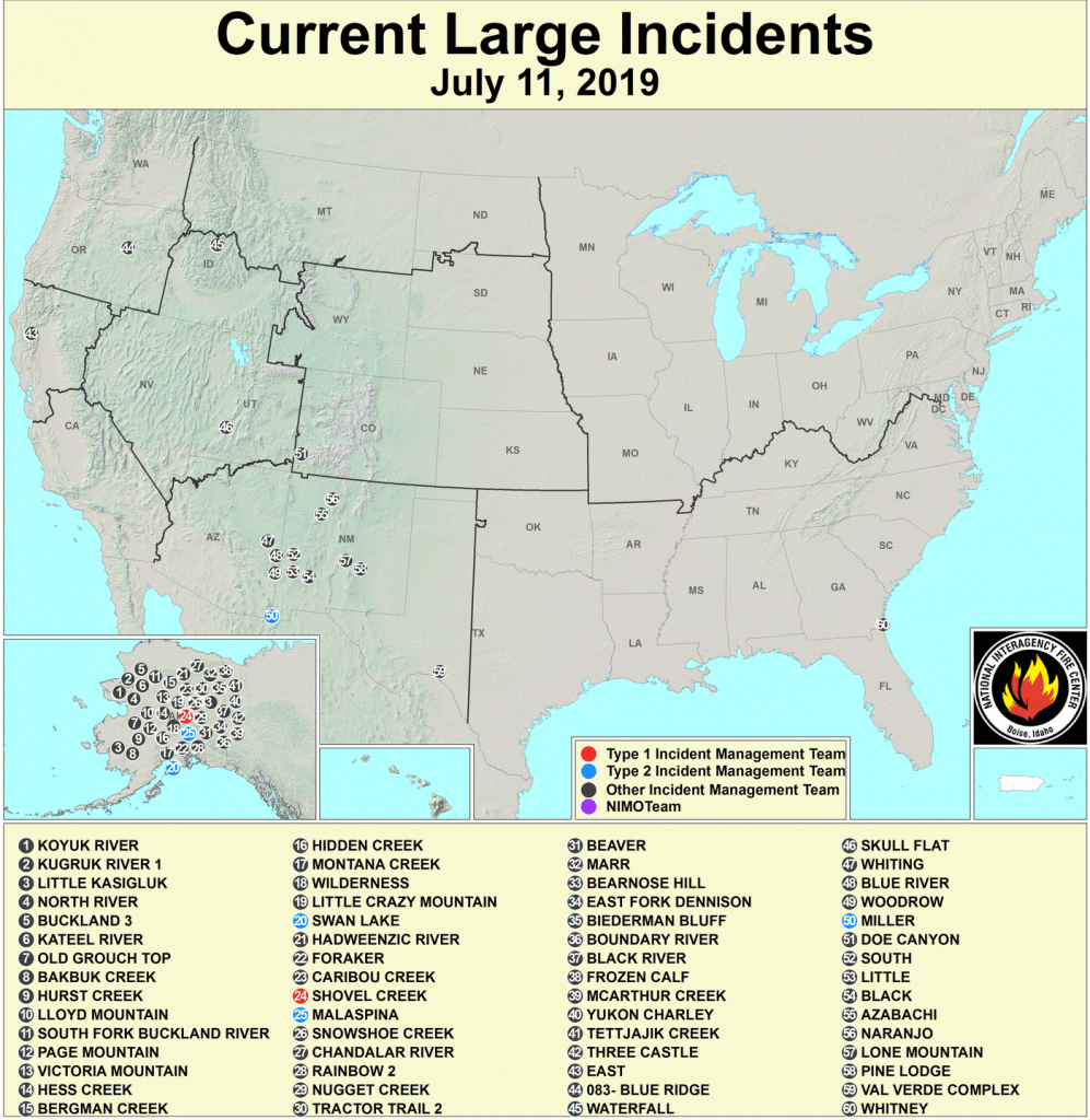 Active Fire Mapping Program - Map Of Current Fires In Southern California