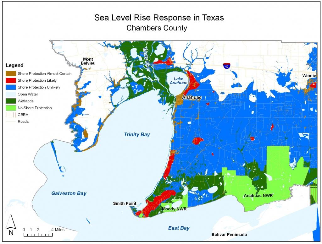 Adapting To Global Warming - Chambers County Texas Flood Zone Map