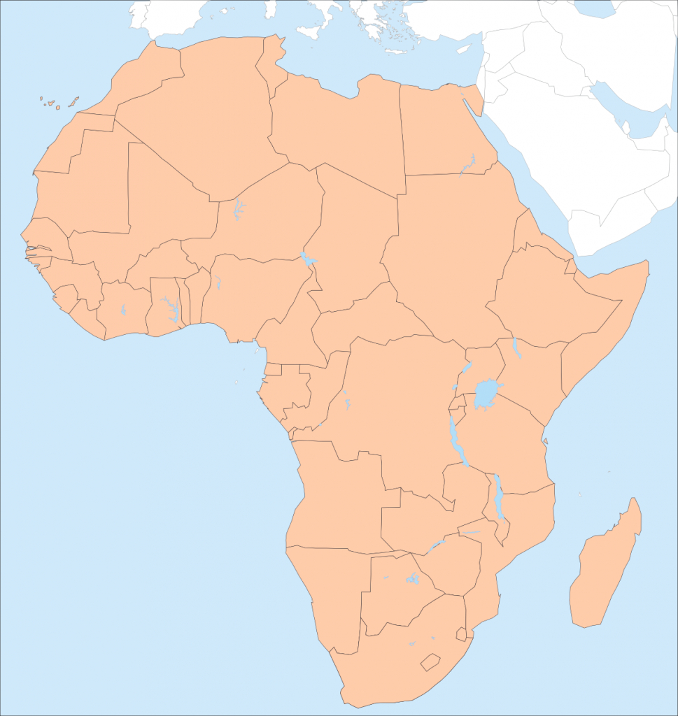 Africa – Printable Maps –Freeworldmaps - Printable Map Of Africa With Countries