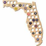 After 5 | Florida Beer Cap Map | Nordstrom Rack   Florida Beer Cap Map