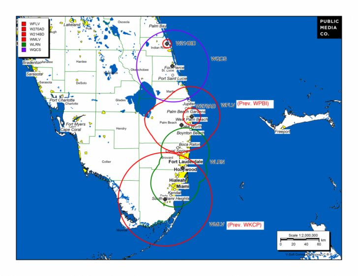 Current Map Of Florida