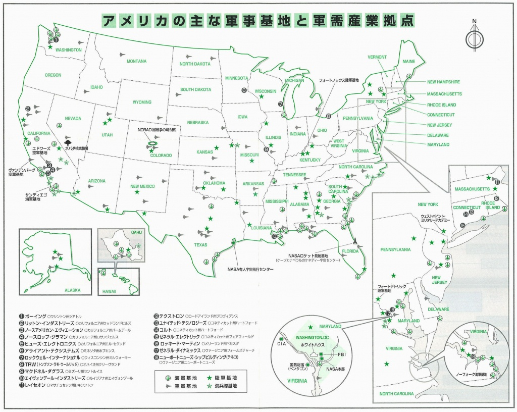 Air Force Base California Map Military Bases In California Map - Map Of Army Bases In California